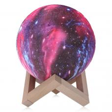 Светильник 3d Галактика 15 см с пультом