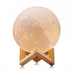 Светильник 3d moon lamp 15 см с пультом