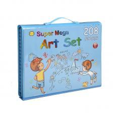 Набор для рисования Super Mega Art Set 208 предметов оптом