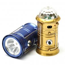 Кемпинговый фонарь с диско шаром