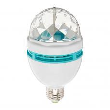 Вращающаяся Диско-лампа LED Full Color Rotating Lamp