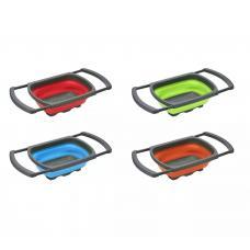 Дуршлаг силиконовый со складными ручками оптом