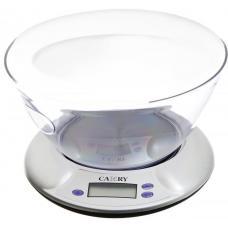 Электронные кухонные весы с чашей (5кг/1г) CAMRY EK-3130