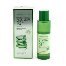 Тонер для лица Vaseina Aloe Vera 92% Toner Refresh & Moisture 120 мл оптом