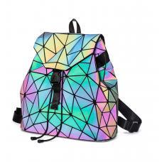 Голографический рюкзак Хамелеон (треугольники)