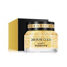 Крем для лица Venzen 24К Pure Gold с ниацинамидом, гиалуроновой кислотой и нано золотом 50 мл
