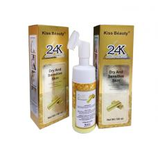 Мусс для умывания Kiss Beauty 24K Make-Up Remover 150 мл оптом