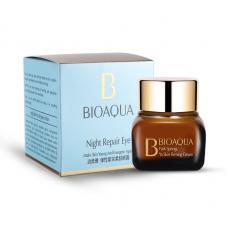 Ночной крем для век Bioaqua Night Repair Eye Cream от морщин 20 г
