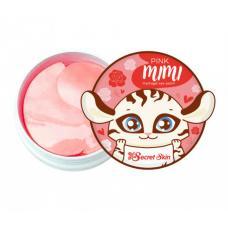 Патчи для глаз с экстрактом дамасской розы Pink mimi hydrogel eye patch 60 шт