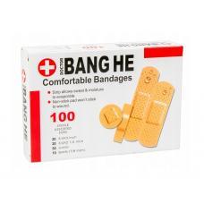 Пластырь Bang He 100 шт