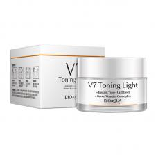 Дневной крем для лица Bioaqua V7 Toning Light отбеливающий 50 мл оптом