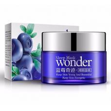 Увлажняющий осветляющий крем для лица Bioaqua Blueberry Wonder Cream с экстрактом черники 50 мл