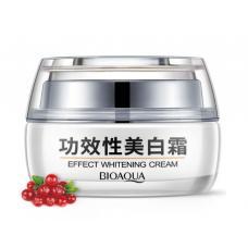 Отбеливающий крем для лица Bioaqua Effect Whitening Cream с хризантемой и клюквой 30 г