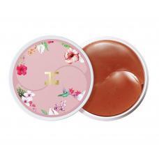 Гидрогелевые патчи с цветами гибискуса Jayjun Roselle Tea Eye Gel Patch 60 шт