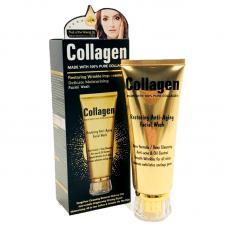 Пенка для умывания Restoring Anti-Aging Facial Wash с коллагеном 120 мл