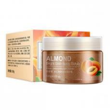 Освежающий скраб для лица Bioaqua Almond Bright Skin Body Scrub 120 мл