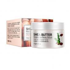 Скраб для тела Bioaqua Shea Butter Moisturize Body с маслом Ши и экстрактом авокадо 120 г