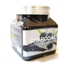 Скраб для тела Wokali Charcoal Sherbet Body Scrub 350 мл