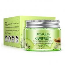 Увлажняющая маска для лица Bioaqua Kiwifruit Snail Tender Skin Sleep Mask 120 г