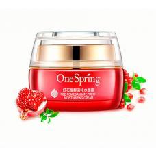 Крем для лица с экстрактом граната One Spring Red Pomegranate Cream 50 мл оптом