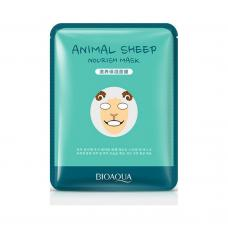 Маска для лица Bioaqua Animal Sheep Nourish Mask 30 г оптом