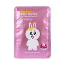 Маска для лица Princess Moist Bright Skin Silk Mask Bunny