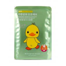 Маска для лица Princess Moist Bright Skin Silk Mask Duck