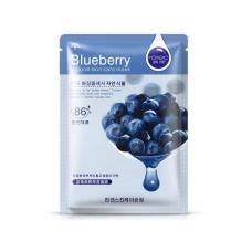 Маска для лица Rorec Natural Skin Blueberry Mask с экстрактом голубики 30 г