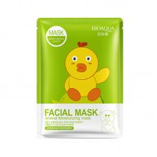 Маска с эссенцией коллагена и граната Bioaqua Facial Mask Animal оптом