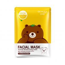 Маска Bioaqua Facial Mask Animal с эссенцией зеленого чая 30 г