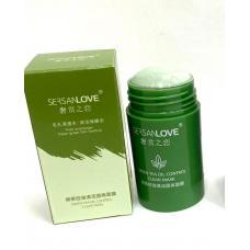 Глиняная маска-стик c экстрактом зеленого чая Sersanlove Green Tea 40 гр оптом