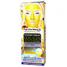 Маска-пленка с коллагеном и золотом Fruit of the Wokali Collagen Gold Mask 120 мл оптом