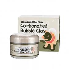 Очищающая пузырьковая маска Elizavecca Milky Piggy Сarbonate Bubble Clay Mask 100 г оптом