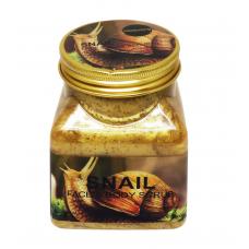 Скраб для лица и тела Snail Face & Body Scrub 500 ml