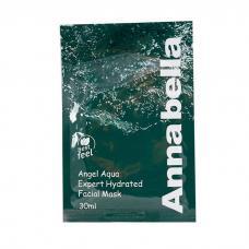 Универсальная тканевая маска Annabella Angel Aqua Hidrated Facial Mask с морскими водорослями