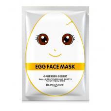 Увлажняющая маска для лица Bioaqua Egg Face Mask White 30 г оптом
