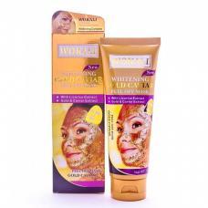 Золотая маска для лица Wokali Whitening Gold Caviar 130 мл