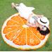 Пляжное покрывало Beach Towel Апельсин оптом