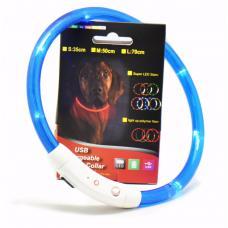 Светящийся ошейник USB Rechargeable Flashing Collar