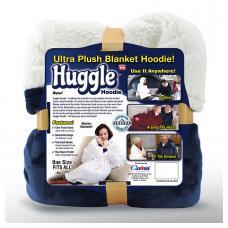 Плед с капюшоном Huggle ultra plush blanket hoodie