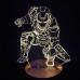 Объемный 3D светильник Железный человек 2 (Iron man) оптом