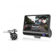 Автомобильный видеорегистратор c 3-я камерами DVR-H33 оптом
