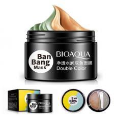 Двухфазная маска для комбинированной кожи Ban Bang mask Bioaqua 2 в 1 по 50г