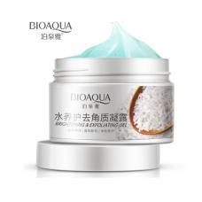 Отшелушивающий крем гель для лица Bioaqua Brightening & Exfoliating Peeling 140г