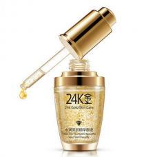Сыворотка для лица BIOAQUA 24K Gold с частицами 24к золота и гиалуроновой кислотой