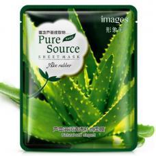 Тонизирующая тканевая маска с Алое вера Pure Source 40 г оптом