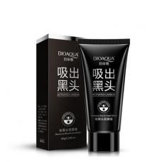 Угольная маска для удаления черных точек Bioaqua 60 г