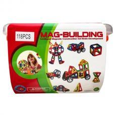Магнитный конструктор Mag-Building 118 деталей оптом