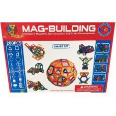 Магнитный конструктор Mag-Building 200 деталей оптом