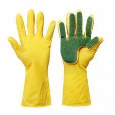 Перчатки с губкой